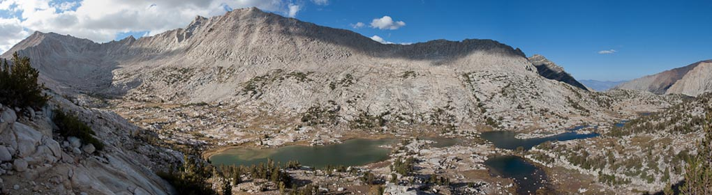 The Chalfant Lakes Basin, above Pine Creek