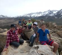 Kids on Grouse Mountain