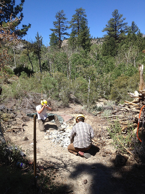 June Lake Trails Day Work