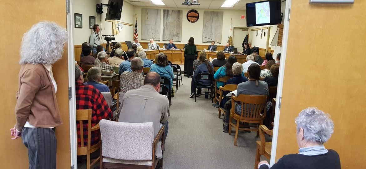 Board of Supervisors meeting Inyo County