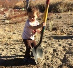 toddler volunteer