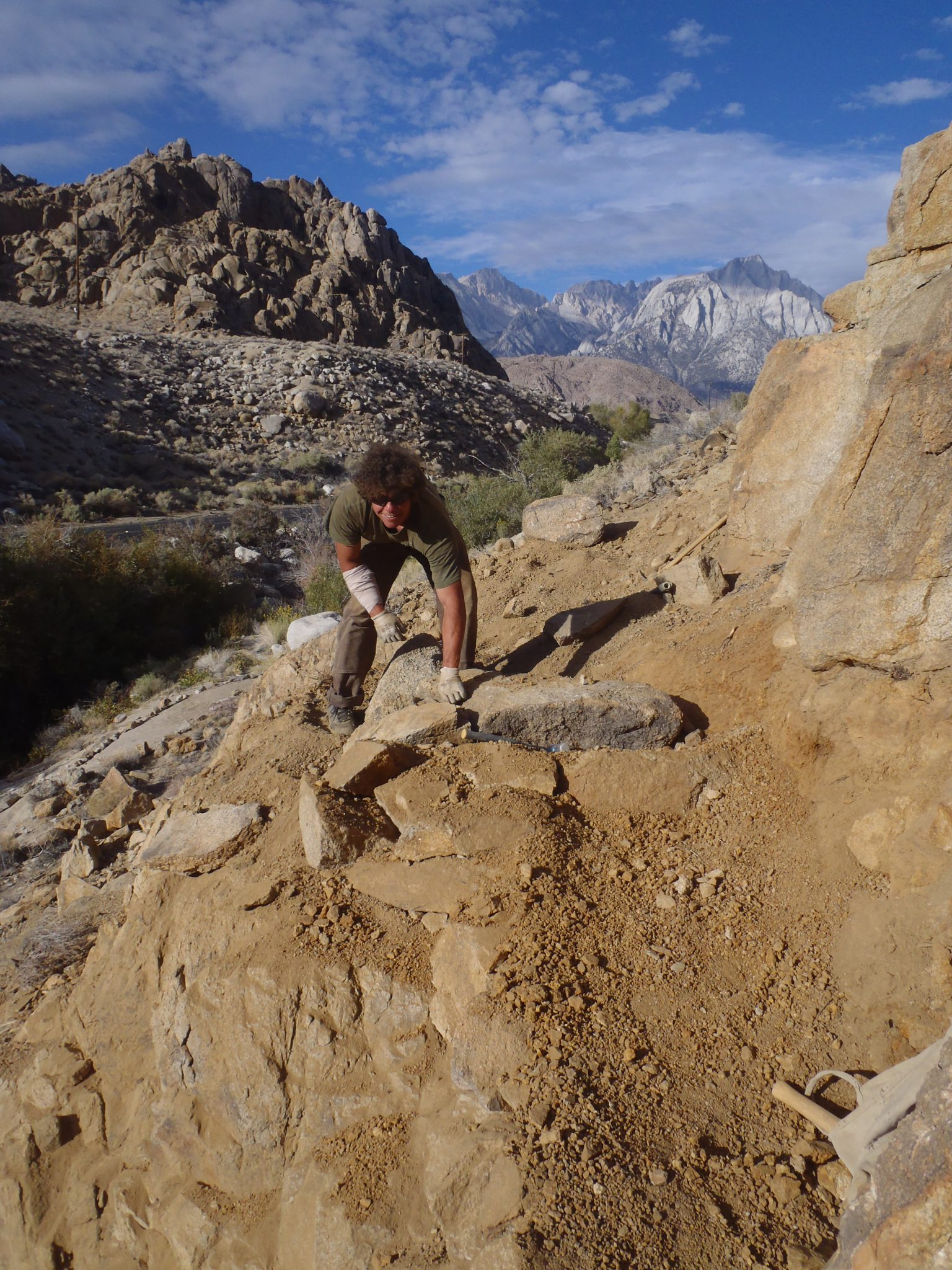 Trail Work Thursday - Lone Pine - Whitney Portal