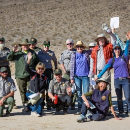 racetrack playa volunteers after