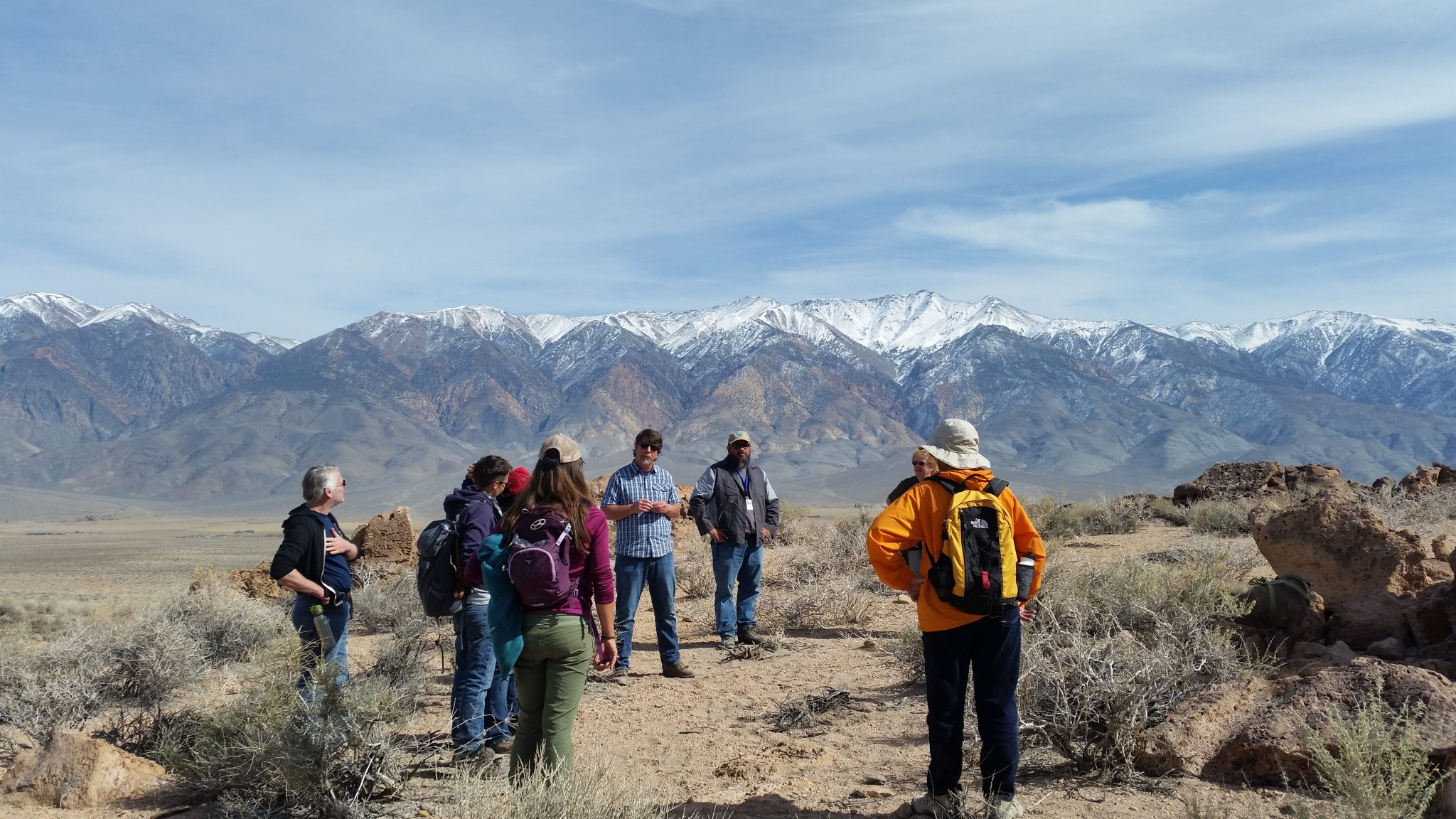 Archaeology tour table lands hike