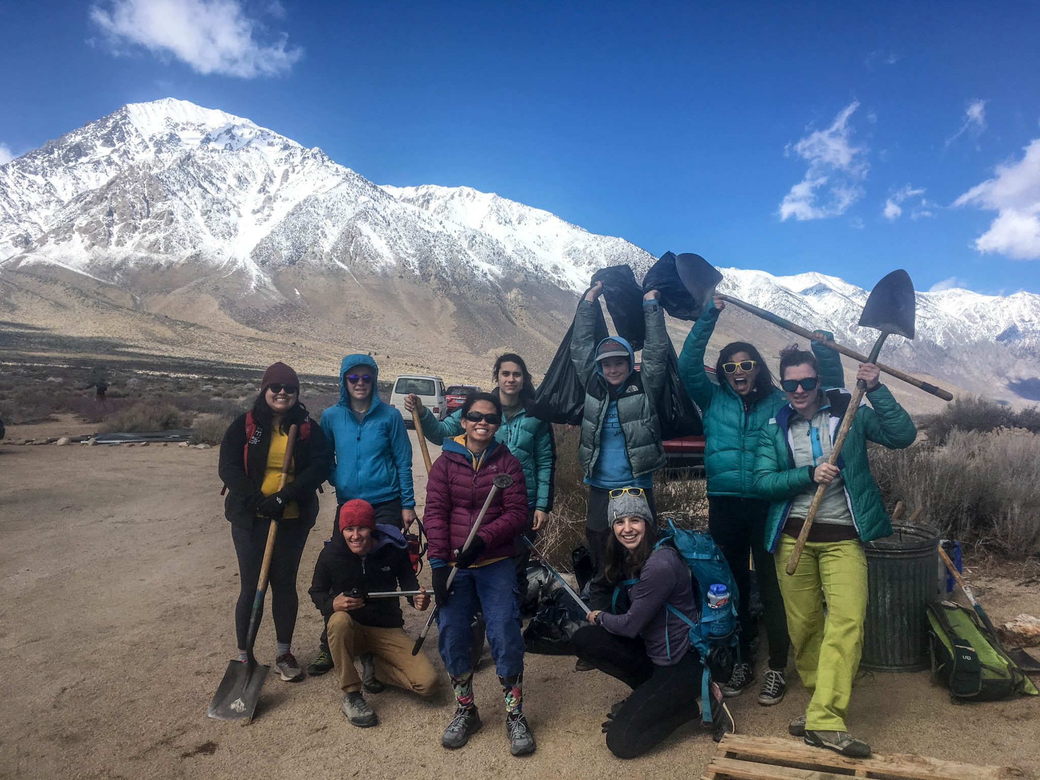 trail volunteers
