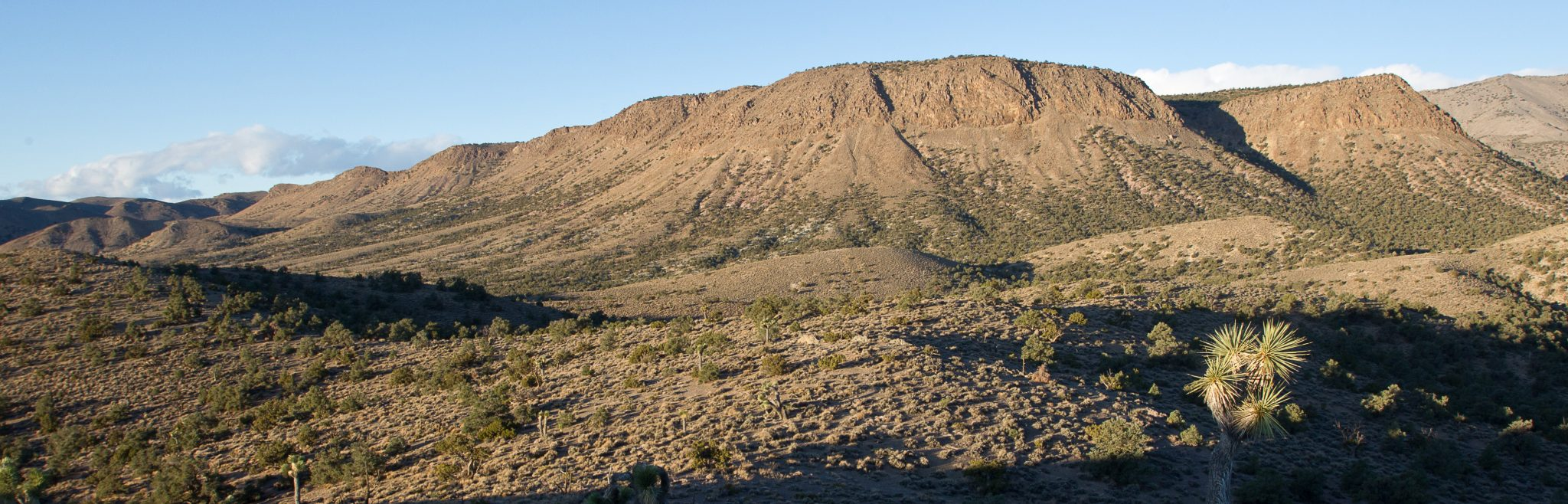 conglomerate mesa from East