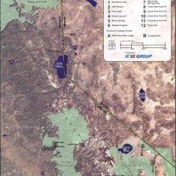 Map Mammoth Base Land Exchange