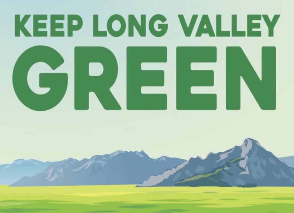 Keep Long Valley Green flier