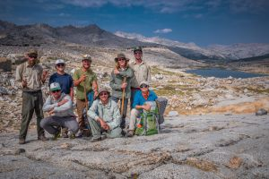 Wilderness Volunteers in Sierra