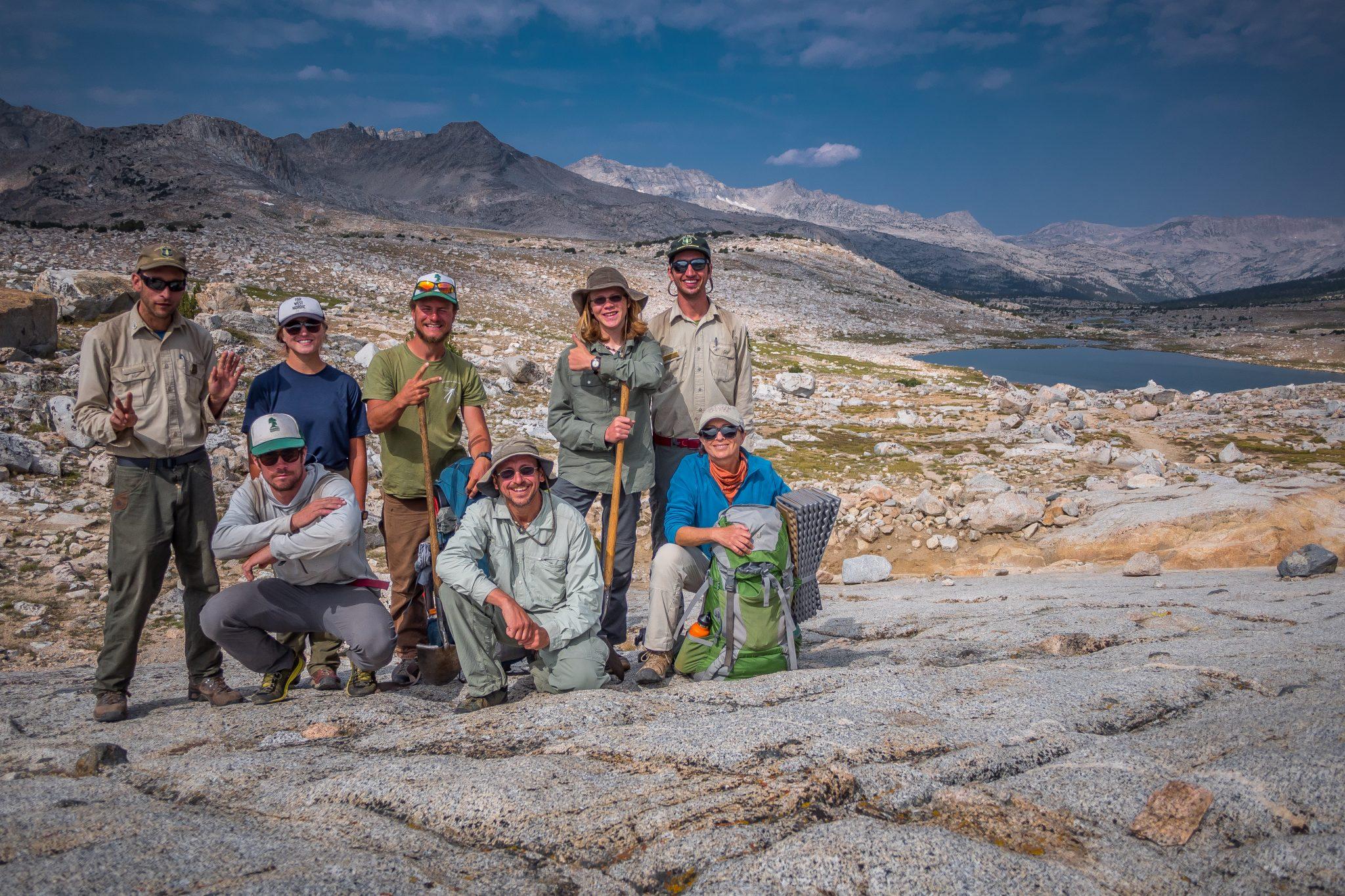 Wilderness Volunteers in Sierra
