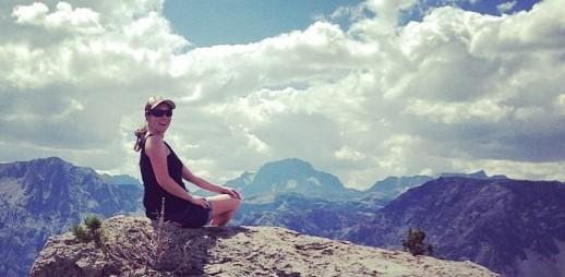 Ellen Wehr Mountain top small