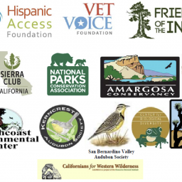 coalition member logos for joshua tree endangered species listing