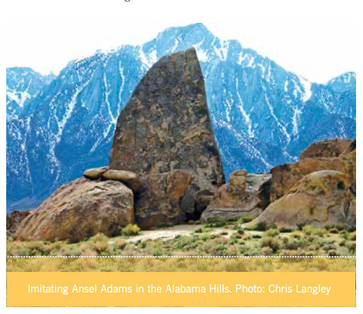 Get Out Spring 2017: Alabama Hills