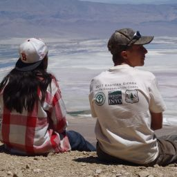Owens Lake Overook Youth Conservation Corps