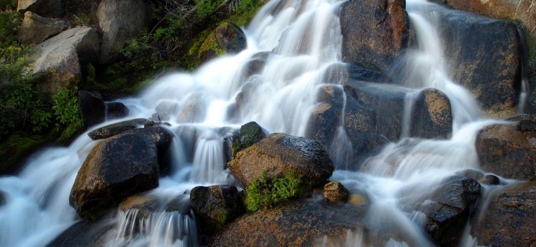 Joe Blommer-Wilderness Areas-Owens Headwaters-Glass Creek Falls