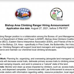 Climbing Ranger Feature