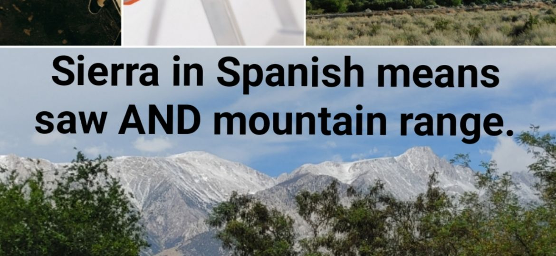 Sierra and Mountain Range